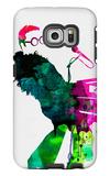 Elton Watercolor Galaxy S6 Edge Case by Lora Feldman