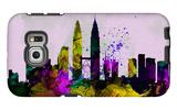 Kuala Lumpur City Skyline Galaxy S6 Edge Case by  NaxArt