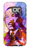 Martin Luther King Watercolor Galaxy S6 Edge Case by Anna Malkin