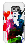 Santana Watercolor Galaxy S6 Edge Case by Lora Feldman