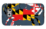 Maryland - Crab Flag - No Text Galaxy S6 Edge Case by  Lantern Press
