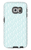 Aqua Hope Galaxy S6 Edge Case by  Avalisa