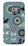 Graphic Birds and Flowers Galaxy S6 Edge Case
