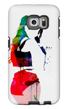 Iggy Watercolor Galaxy S6 Edge Case by Lora Feldman