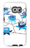 Blue Flowering Tree Galaxy S6 Edge Case by  Avalisa