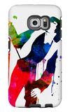 Jim Watercolor Galaxy S6 Edge Case by Lora Feldman