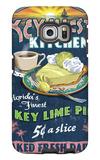 Key West, Florida - Key Lime Pie Galaxy S6 Edge Case by  Lantern Press
