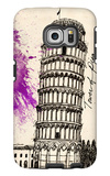 Tower of Pisa in Pen Galaxy S6 Edge Case by Morgan Yamada