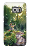 Nostalgic Country Cottage Galaxy S6 Edge Case