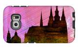 Prague City Skyline Galaxy S6 Edge Case by  NaxArt
