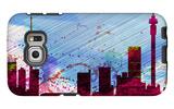 Johannesburg City Skyline Galaxy S6 Edge Case by  NaxArt