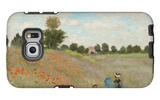 Poppy Field, Near Argenteuil, c.1873 Galaxy S6 Edge Case by Claude Monet