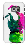 Gwen Watercolor Galaxy S6 Edge Case by Lora Feldman