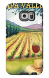Napa Valley, California Wine Country Galaxy S6 Edge Case by  Lantern Press