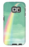 Rainbow in Bright Sky Galaxy S6 Edge Case