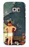 """Big Shadow, Little Boy,"" October 22, 1960 Galaxy S6 Edge Case by Richard Sargent"
