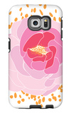 Pink Peony Galaxy S6 Edge Case by  Avalisa