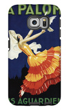 Spain - La Paloma - Anis Aguardiente Promotional Poster Galaxy S6 Edge Case by  Lantern Press