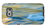 Late Afternoon Light and Merced River Abstract Galaxy S6 Edge Case by Vincent James