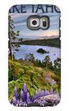 Lake Tahoe, California - Emerald Bay Galaxy S6 Edge Case by  Lantern Press