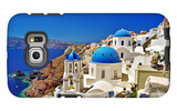 Amazing Santorini - Travel In Greek Islands Series Galaxy S6 Edge Case by  Maugli-l