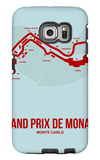 Monaco Grand Prix 3 Galaxy S6 Edge Case by  NaxArt