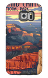 Grand Canyon National Park - Mather Point Galaxy S6 Edge Case by  Lantern Press
