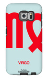 Virgo Zodiac Sign Red Galaxy S6 Edge Case by  NaxArt