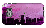Vancouver City Skyline Galaxy S6 Edge Case by  NaxArt
