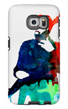 Lenny Watercolor Galaxy S6 Edge Case by Lora Feldman