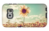 One Sunflower Rising above the Rest Galaxy S6 Edge Case by  soupstock
