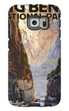 Big Bend National Park, Texas - Santa Elena Canyon Galaxy S6 Edge Case by  Lantern Press