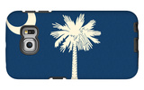 South Carolina State Flag Galaxy S6 Edge Case by  Lantern Press