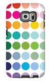 Rainbow Dots Galaxy S6 Edge Case by  Avalisa