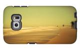 Golden Beach Landscape Galaxy S6 Edge Case by Jan Lakey