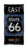 Route 66 East Giclee Print by Luke Wilson
