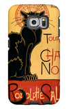 Tournee du Chat Noir, c.1896 Galaxy S6 Edge Case by Théophile Alexandre Steinlen