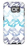 Blue Bug Galaxy S6 Edge Case by  Avalisa