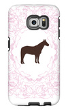 Pink Stallion Galaxy S6 Edge Case by  Avalisa