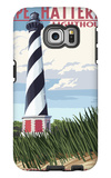 Cape Hatteras Lighthouse - Outer Banks, North Carolina Galaxy S6 Edge Case by  Lantern Press