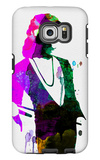 Freddie Watercolor Galaxy S6 Edge Case by Lora Feldman