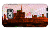 Milan City Skyline Galaxy S6 Edge Case by  NaxArt