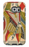 Jack of Diamonds Card Galaxy S6 Edge Case