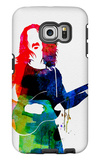 Frank Watercolor Galaxy S6 Edge Case by Lora Feldman