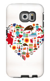 Spain Love Galaxy S6 Edge Case by  Marish
