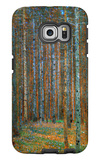 Tannenwald (Pine Forest), c.1902 Galaxy S6 Edge Case by Gustav Klimt