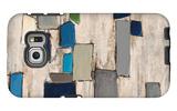 Blue Squared Galaxy S6 Edge Case by Dennis Dascher