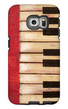 Piano Keys Galaxy S6 Edge Case by  Hakimipour-ritter