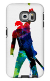 Bruce Watercolor Galaxy S6 Edge Case by Lora Feldman