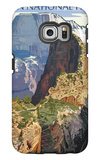 Zion National Park - Angels Landing Galaxy S6 Edge Case by  Lantern Press